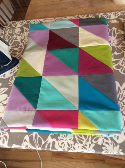 HST quilt top