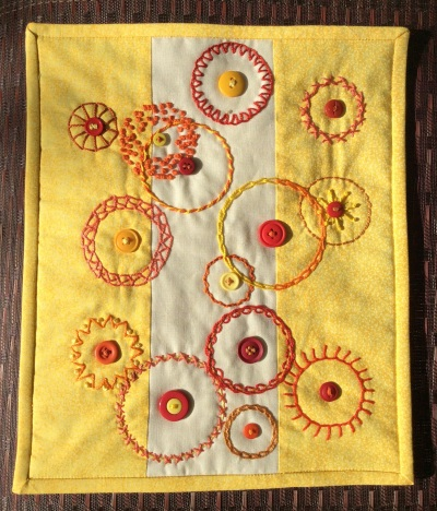 Sunny circles finished