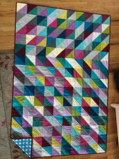 HST quilt finished