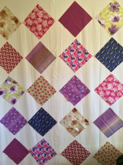 Spring fling quilt squares