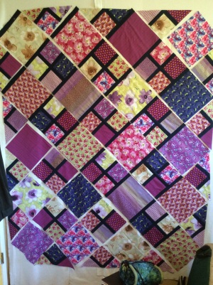 Spring Fling quilt in progress