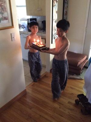 R's birthday
