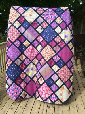 Spring fling quilt top finished
