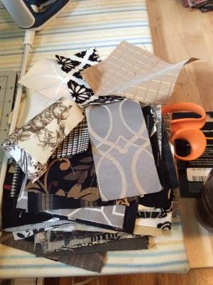 Upholstery scraps
