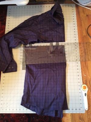 T-shirt and dress shirt tunic