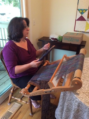 Weaving lesson