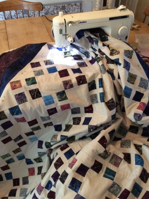 Quilting A's Moroccan Tiles quilt