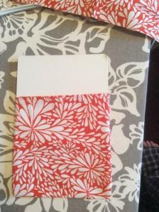 Drawstring bag - cardboard insert