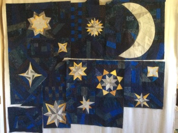Night Sky Stars in progress