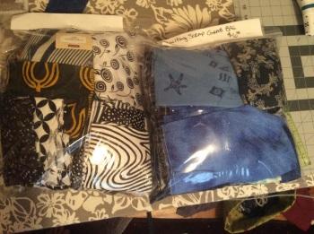 Scrap fabric grab bags