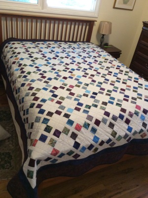 Moroccan Tiles quilt finished