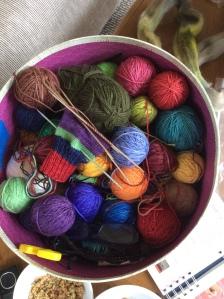 Paige's sock yarn