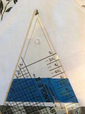 45 degree triangle