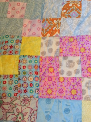 Scrappy Chains quilt